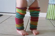 sizing only up to 12 months Ravelry: Baby Knit Leg Warmers pattern by Sarah Turpin Crochet Baby Socks, Crochet Leg Warmers, Knitted Baby, Boots With Leg Warmers, Baby Leg Warmers, Baby Knitting Patterns, Free Knitting, Crocheting Patterns, Baby Leggings