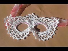 preciosa mascara a crochet facil de realizar paso a paso muy rapida de hacer ideal hallowen o carnavales nuestra comunidad de facebook para unirte o descarga...