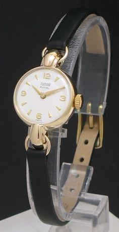 DELIGHTFUL SOLID 9CT GOLD ROLEX TUDOR ROYAL LADIES COCKTAIL WATCH c1960 | eBay