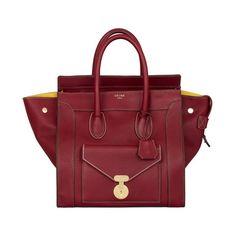 Celine burgundy leather medium shopper ❤ liked on Polyvore featuring bags, handbags, tote bags, celine, сумки, purses, borse, red leather purse, celine tote and red leather tote bag
