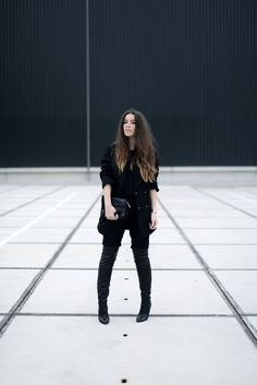 OUTFIT / NEGLECTED | COTTDS // all black chic