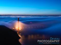 Golden Gate Sunrise by TC Deveau on 500px