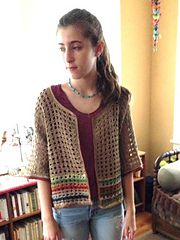 Ravelry: Modular Cardigan pattern by Esther Sandrof