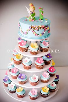 CUPCAKES GALLERY | Yummy Cupcakes and Wedding Cakes      Very sweet for a baby's 1st birthday. Simple design, quality workmanship and attractive colour.