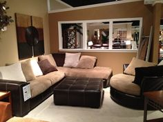SEE IT, SNAP IT, POST IT Facebook Entry: Contemporary Sectional
