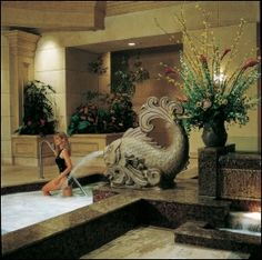 Mandalay Bay Spa the sauna was to die for