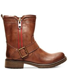 Madden Girl Boots, Rumble Engineer Booties - Shoes - Macy's