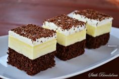 SÜTIK BIRODALMA: Amerikai krémes / Creamy pudding square