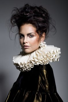Baroque Ladies - Baroque http://baroque-ladies.tumblr.com/ #elizabethan beauty