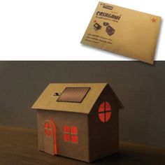 * A little house to decorate. A solar powered by Casagashop on Etsy, €6.99