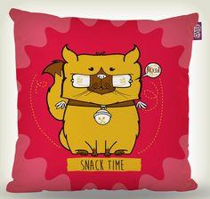 Almofada - Cat snack time!