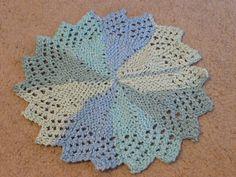 Ravelry: Lacy Round Cloth by Rhonda White