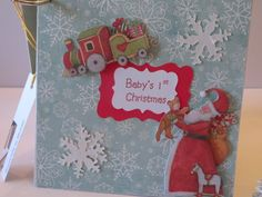 Baby's First Christmas Keepsake Scrapbook