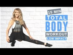 14 Day Workouts, 15 Minute Workout, Fitness Workout For Women, Fitness Tips, Health Fitness, Total Body, Full Body, Body Challenge, Health Exercise