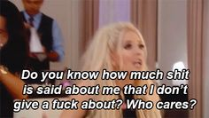 """When she was done with all the backstabbing bullshit. 