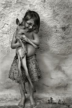 child & joey -- by Alain Laboile