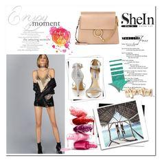 """""""shein"""" by nejla-nejla ❤ liked on Polyvore featuring Steve Madden, Chloé and GALA"""