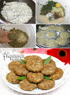 Turkish Recipes, Italian Recipes, Ethnic Recipes, Fish And Meat, Fish And Seafood, Baby Food Recipes, Diet Recipes, Turkish Kitchen, Good Food