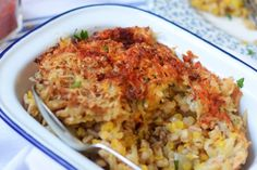A hearty baked risotto with lentils, parsnips and potatoes Tray Bake Recipes, Veggie Recipes, Lunch Recipes, Vegetarian Recipes, Healthy Recipes, Simple Recipes, Healthy Food, Netmums Recipes, How To Make Risotto