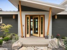 Front Yard From DIY Network Blog Cabin 2015 | DIY Network Blog Cabin Giveaway | DIY