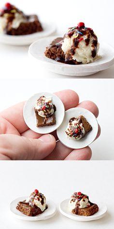 Brownie and Icecream by Ddallas.deviantart.com on @deviantART