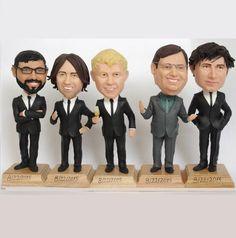 Funny Bobblehead Groomsmen Gifts