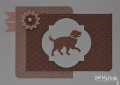 May 2013 Charity – Lost Dogs Home and Cat Shelter @ North Melbourne.   Card handmade by Sue Wdowik - Independent Stampin' Up! Demonstrator. www.nighnighbirdie.blogspot.com