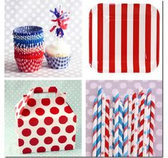 cute july 4th party supplies paper goods - Home and Garden Design Idea's