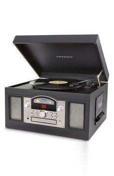 Crosley Radio 'Archiver' Entertainment Center - Black
