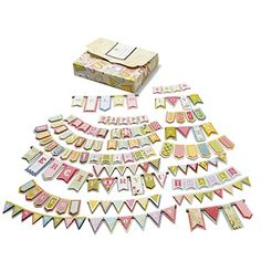 Anna Griffin 3D Banner Embellishment Kit - 24-Count at HSN.com.