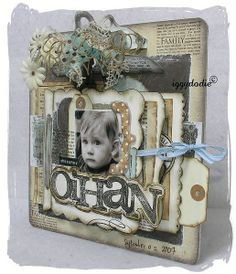 I know this was done elsewhere with different product; however, I'm going to use Tim Holtz's new release.