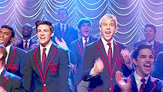 Sebastian & Jeff - my favourite warblers (except for Blaine Kurt!)