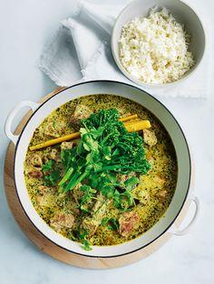 slow-braised green pork curry