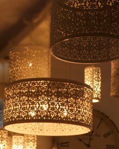 מנורה אהיל צילינדר, תחרה ברונזה Turkiz House