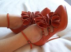high heels, casual, shoes, brown