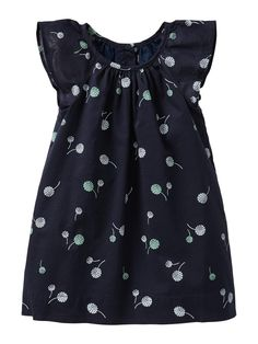 Navy blue with floral
