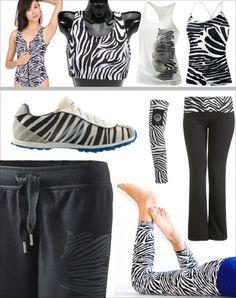 Zebra Zebra Zebra!!! Really like the shoes and the pants in the bottom right corner!