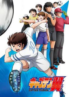 Captain Tsubasa Anime Visuak