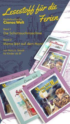 Die Weihnachtsferien sind zu Ende und die Semesterferien stehen in Österreich vor der Tür! Also jetzt schon für reichlich Lesestoff vorsorgen! Self Publishing, Event Ticket, Life On The Moon, Kids Book Series, Authors