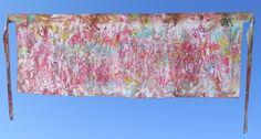 Esta saia envelope também pode ser usada como saída de praia e canga, em crepe e com estamparia manual (pintada à mão). Tamanho 55 (altura) x 145 (largura) cm.  Produto  disponível, ref 510     WhatsApp: +55 (21) 99799-3686  #estamparia manual #estampariaartesanal #handmade #modafeminina tecido/ fashion/ diy/ style/ beach/ couture/ femme/ tecido/ fashion/ tissus/ mode