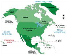 Ameryka północna - Podział polityczny
