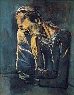 Two figures(Deux personnages), 1904 Pablo Picasso