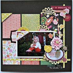 This is the greatest! - My Creative Scrapbook's main kit jan. 2015