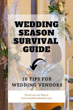 10 TIPS FOR WEDDING VENDORS Wedding Set Up, Wedding Season, Wedding Flowers, Budget Wedding, Wedding Vendors, Sports Drink, I Can Do It, Industrial Wedding, Survival Guide