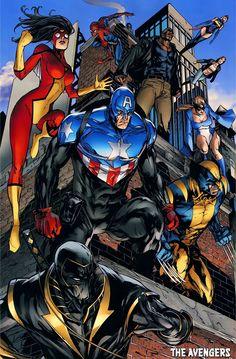 The Avengers..........