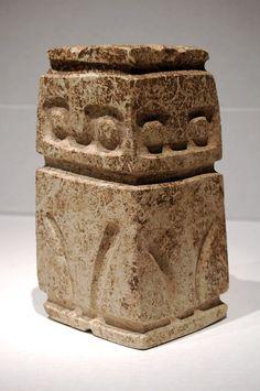 Avian Figure - Valdivia Culture - Ecuador 3500 - 2000 BC Sandstone - William Siegal Gallery
