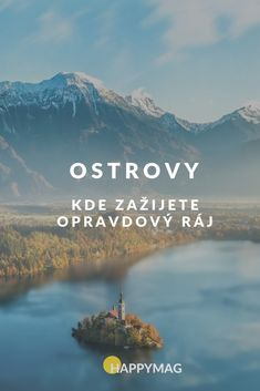 Zkuste navštívit nějaký ostrov, je tam opravdu nádherně. #ostrov #cestovani #travel #raj Where To Go, Life Is Beautiful, Amazing Places, The Good Place, Travelling, Travel Tips, World, The World, Life Is Good
