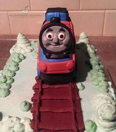 Thomas The Train Theme Cake  #thomasthetrain #birthday #cakes #themecake #markham #canada