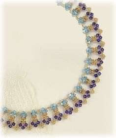 Crystal Shine Necklace Pattern