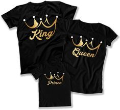 Auntie Nana Grammy Mimi Pop Pop and Family Tees and Hoodies Matching Family T Shirts, Cute Couple Shirts, Family Tees, Matching Outfits, Family Tshirt Ideas, Family Shirt Design, Kings & Queens, Custom T Shirt Printing, Couple Outfits